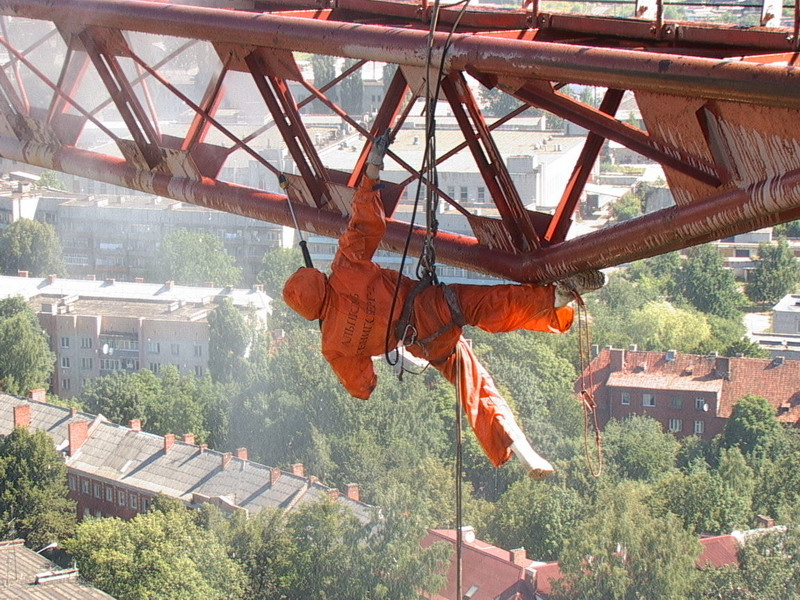 Требуются промышленные альпинисты казань